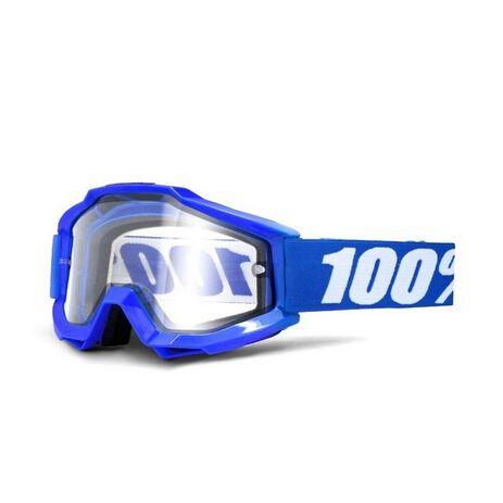 _Gafas 100% Accuri Enduro Reflex Blue Cristal Doble | 50202.002.02 | Greenland MX_