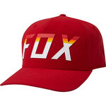 _Gorra Fox On Deck Flexfit Rojo | 24954-555-P | Greenland MX_