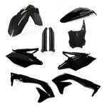 _Full Kit Plásticos Acerbis Kawasaki KX 450 F 16-17 Negro | 0021843.090-P | Greenland MX_