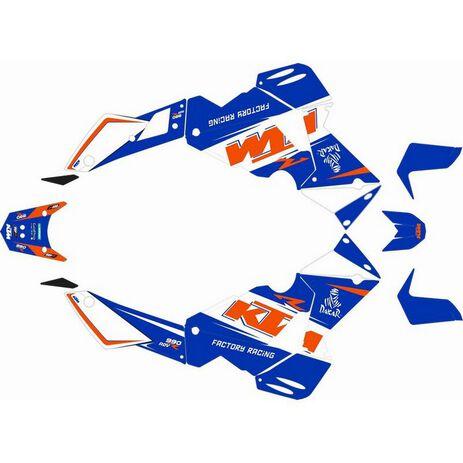_Kit Adhesivos Completo KTM Adventure 990 06-13 Azul   SK-KTM990ADVBLU-P   Greenland MX_