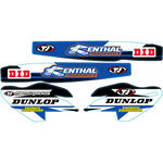 _Kit Adhesivos Suspension TJ Yamaha YZ 250/450 F 10-17 | SKYZF1011 | Greenland MX_