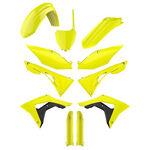_Full Kit Plásticos Polisport Honda CRF 450 R 17-18 Amarillo Flúor | 90742 | Greenland MX_