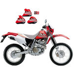 _Kit Adhesivos Blackbird Honda XR 600 88-99 | 2129A | Greenland MX_