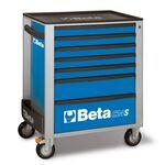 _Cajonera Móvil con 7 Cajones Beta Tools Azul | C24S-7-B-P | Greenland MX_