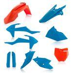 _Full Kit Plásticos Acerbis KTM SX 125/150 16-18 SX 250 17-18  SX-F 16-18 Naranja/Azul | 0021741.204-P | Greenland MX_