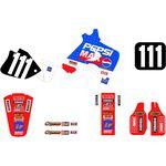 _Kit Adhesivos Tecnosel Replica Team Honda Pepsi 1994 CR 125 93-94 CR 250 92-94 | 21V06 | Greenland MX_