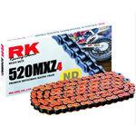 _Cadena RK 520 MXZ4 Super Reforzada 120 Pasos Naranja | TC-RKMXZ4OR | Greenland MX_
