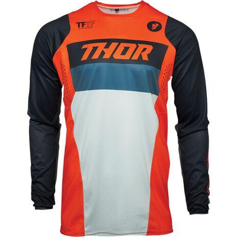 _Jersey Thor Pulse Racer Naranja/Midnight | 2910-619N-P | Greenland MX_