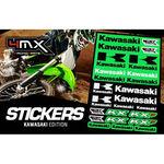 _Adhesivos Variados 4MX Kawasaki | 01KITA606KW | Greenland MX_