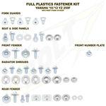 _Kit Tornilleria de Plásticos + Casquillos Yamaha YZ 250 F 10-13 WR 450 F 12-13   BO-YAM-101002   Greenland MX_