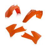 _Kit Plásticos Acerbis KTM EXC 125/200/250/300 05-07 EXC-F 250/400 05-07 Naranja | 0008193.010 | Greenland MX_