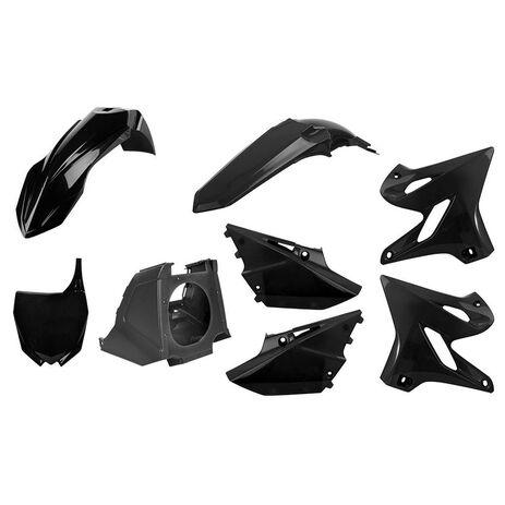 _Kit Plásticos Polisport MX Restyling Yamaha YZ 125/250 02-14 a 15-18 Negro   90718   Greenland MX_