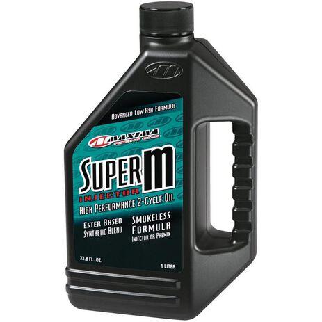 _Aceite Maxima 2T Super M Injector 1 Litro | 28901 | Greenland MX_