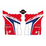 _Kit Adhesivos Rejilla Radiador Blackbird Replica Team HRC Honda CR 450 F 17-20 | A106R18 | Greenland MX_