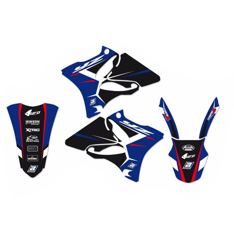 _Kit Adhesivos Blackbird Dream 4 Yamaha YZ 125/250 02-14 | 2231N | Greenland MX_
