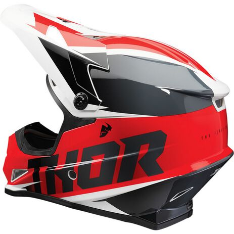 _Casco Thor Sector Fader Rojo/Negro   0110-67RN-P   Greenland MX_