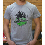 _Camiseta GMX Dirt Passion Gris | PU-TGMXDPGY | Greenland MX_