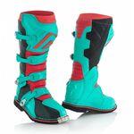 _Botas Acerbis X-Pro V Verde/Rojo | 0021596.379 | Greenland MX_