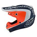 _Casco Infantil Troy Lee Designs SE4 Corsa Azul Marino/Naranja   112133003-P   Greenland MX_