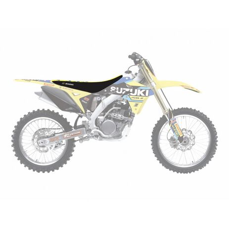 _Funda de Asiento Blackbird Replica World Restyle Suzuki RMZ 250 07-18 | 1328R7 | Greenland MX_