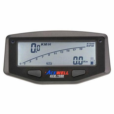 _Cuentakilómetros Acewell con RPM Negro   ACE-1500-P   Greenland MX_