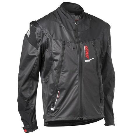 _Chaqueta Leatt GPX 4.5 Lite Negro/Gris | LB5018700100-P | Greenland MX_