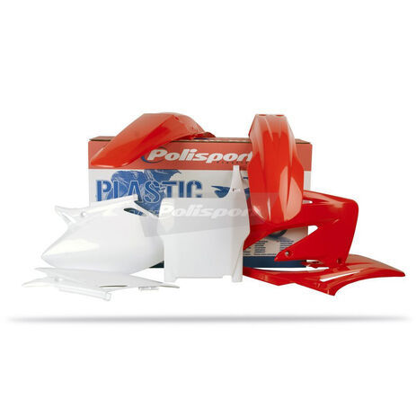 _Kit Plásticos Polisport Honda CRF 450 04 | 90109 | Greenland MX_