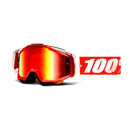 _Gafas 100% Racecraft Mirror Lens Rojo | 50110-003-P | Greenland MX_