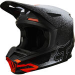 _Casco Fox V2 BNKZ Negro | 24868-001 | Greenland MX_