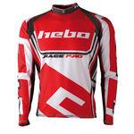_Jersey Hebo Trial Race Pro II Rojo XL | HE2172RXL | Greenland MX_