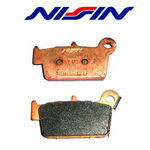 _Pastillas Traseras Nissin Originales Gas Gas 09-13, YZ 125/250 03-08, YZF 250/450 03-13, RM 125/250 | FP-R002 | Greenland MX_