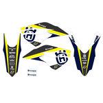 _Kit Adhesivos Blackbird Dream 4 Husqvarna FC/TC 14-15 FE/TE 14-16 | 2611N | Greenland MX_