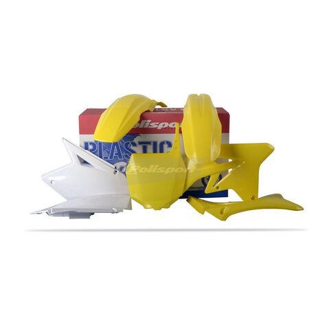 _Kit Plásticos Polisport Suzuki RMZ 250 07-09 | 90123 | Greenland MX_