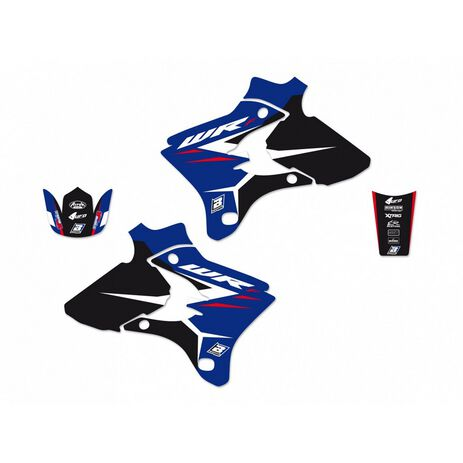 _Kit Adhesivos Blackbird Dream 4 Yamaha  WR 250/450 F 03-04 | 2217N | Greenland MX_