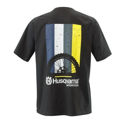 _Camiseta Husqvarna Striped | UHS210052800 | Greenland MX_