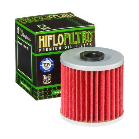 _Filtro de Aceite Hiflofiltro Kawasaki KLX 650 R 93-01 | HF123 | Greenland MX_