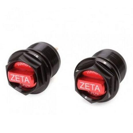 _Tapón Inferior Regulador Horquilla Zeta Showa AOS Rojo   ZE56-20020   Greenland MX_