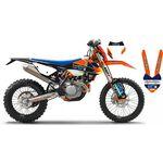 _Kit Adhesivos Completo Go Pro KTM EXC 17-19 New Black Edition | SK-KT17GP19RBBKN | Greenland MX_