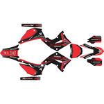 _Kit Adhesivos Completo Kit Restyling Polisport Honda CR 125/250 R 02-07 Negro/Rojo | SK-CR1225PLRKBKRD-P | Greenland MX_