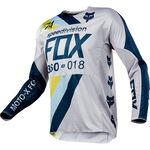 Jersey Fox 360 Draftr Gris/Azul L, , hi-res