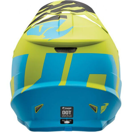 _Casco Thor Sector Level Azul/Verde | 01105142-P | Greenland MX_