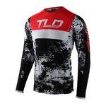 _Jersey Troy Lee Designs Ultra SE Negro/Rojo | 354893002-P | Greenland MX_