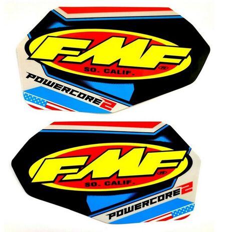 _Adhesivos Silencioso FMF Power Core 2 Patriot | 014844 | Greenland MX_