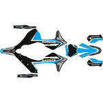 _Kit Adhesivos Completo Gas Gas MC/MC-F 21-.. Troy Lee Cyan | SK-GGMCTRO21CY-P | Greenland MX_