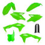 _Full Kit Plásticos Acerbis Kawasaki KX 250 F 2017 Verde Flúor   0022378.131-P   Greenland MX_
