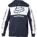 _Sudadera con Capucha Fox Honda Azul Marino/Blanco | 25955-045-P | Greenland MX_