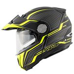 _Casco Givi X.33 Canyon Layers Negro Mate/Amarillo | HX33FLYBY-P | Greenland MX_