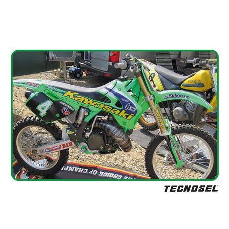 _Funda de Asiento Tecnosel Replica Team Kawasaki 1998 KX 125/250 94-98 | 14V02 | Greenland MX_