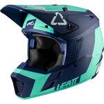 _Casco Infantil Leatt GPX 3.5 Turquesa | LB1020001850-P | Greenland MX_