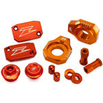 _Kit Accesorios Aluminio Zeta Racing KTM SX 250 13-18 SX-F 250/350/450 13-18 Naranja | ZE51-2443 | Greenland MX_